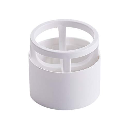 Minkissy 3pcs maquillage porte-éponge en plastique support de séchage rack support poudre de oeuf crochets (blanc)