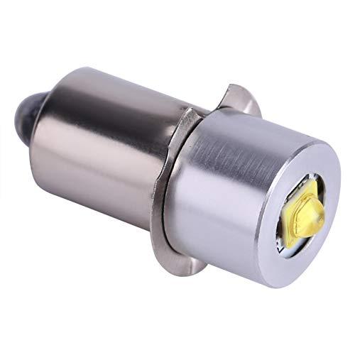 Kuuleyn Bombilla de Linterna LED, 5W 6-24V P13.5S Bombilla de Repuesto para Linterna Antorchas Kit de conversión de Emergencia LED de Alto Brillo