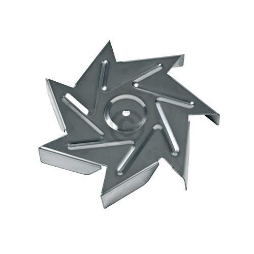 Flügel Ventilatorrad Rad Ventilatorenflügel für Heißluftherdventilator Backofen ORIGINAL Küppersbusch 544729 Electrolux AEG 4071345716