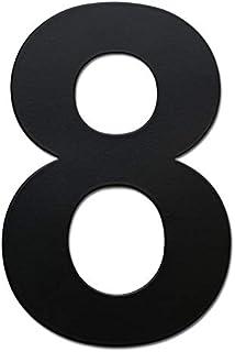 nanly número de casa moderna 15.3cm/6