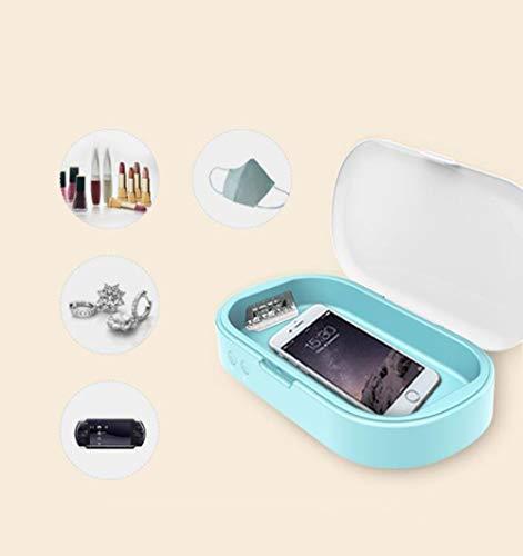 Smilewx Esterilizador del teléfono Esterilización Ultravioleta UVC Ropa Interior aromaterapia Reloj Mini...