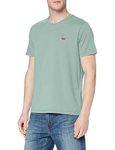 Levi's SS Original Hm tee Camiseta, Blue Surf, M para Hombre