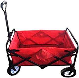 Folding Camping Multi-function Outdoor Wagon Shopping Cart & Bags & Trolleys,WB-614 Blue