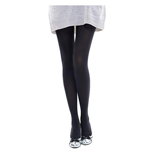 PPangUDing 1 Paar Overknee Strümpfe lange Socken Compression Kniestrümpfe Damen Sexy Elastische Blickdicht Eng Hip Raise Figurformende Einfarbig Thermo Strumpfhose Leggings Strapsstrümpfe