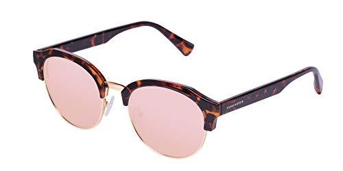 HAWKERS - Gafas de sol para hombre y mujer. Modelo CLASSIC , Marrón / Rose Gold Dorado, carey, talla única ROCTR03