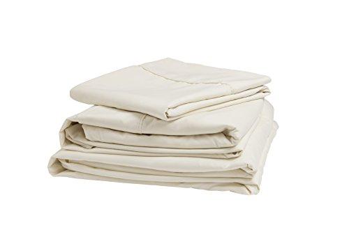 Denver 343501 RV Narrow King Size Sateen Sheet Set Ivory