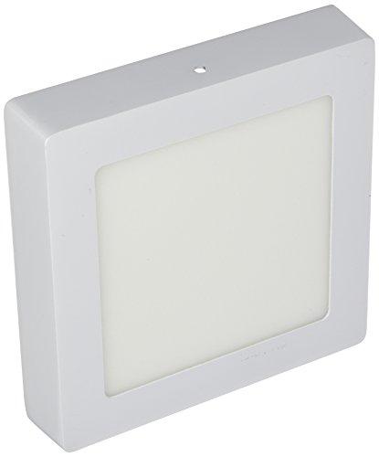 LYO LED-plafondlamp, vierkant, binnenoppervlak, wit, 17 x 3,5 cm