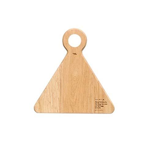 Decoración del hogar- Creativo de madera maciza tablas de cortar nórdica estilo Eco tablero de pan natural Frutas Placas Inicio / restaurante Bandeja for servir Decoración de pared para sala de estar