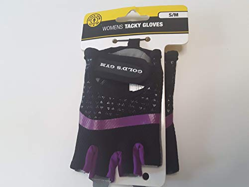 Gold's Gym Women's Tacky Half-finger Weight Lifting Gloves (M/L) (S/M)