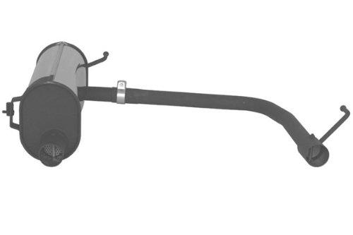 Remus 186505 199 Grande Punto Schrägheck, 2005=>, Grande Punto Facelift Schrägheck, 2009=>, PowerSound Hauptschalldämpfer links/rechts mit Klappensteuerung