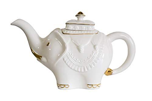 Jaipur Elephant Porcelain Teapot