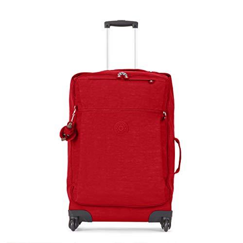 Kipling Darcey Softside Spinner Wheel Luggage, Cherry Tonal, Checked-Medium 26-Inch