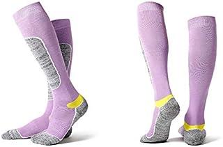 Winter Ski Socks Men Women Hiking Sport Snow Cotton Long Snowboard Sock AU Stock