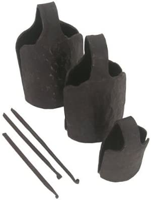 Classical Heartwood Dunun Bell 5 popular Set of 3 Hand-Cra Strikers depot - with