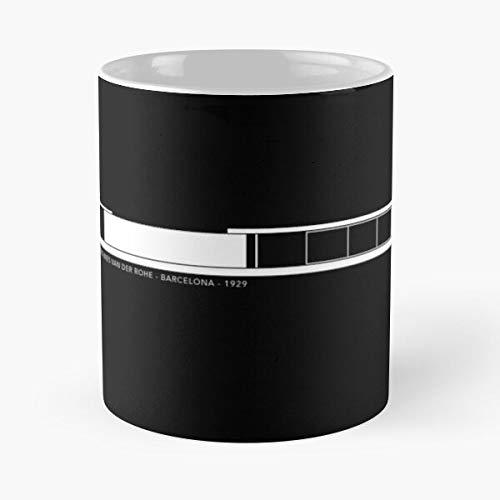 Generic Van Rohe Der Architecture Mies Pavilion Barcelona Best 11 oz Kaffeebecher - Nespresso Tassen Kaffee Motive