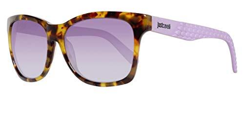 Just Cavalli Sonnenbrille JC649S 5653W Gafas de sol, Marrón (Braun), 54 para Mujer