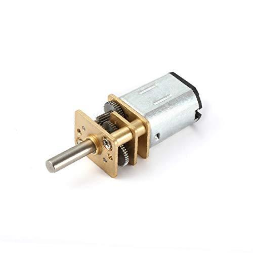 X-DREE Scatola ingranaggi mini motore DC 6V 300RPM Micro Speed Reduction con 2 terminali per motore di auto RC modello di motore giocattolo fai da te(DC 6V 300RPM Micro Reductor de Velocidad Mini Ca