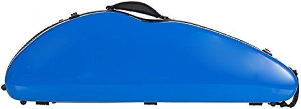 Estuche para violín fibra Safe Flight 4/4 rey azul M-Case: Amazon.es: Instrumentos musicales
