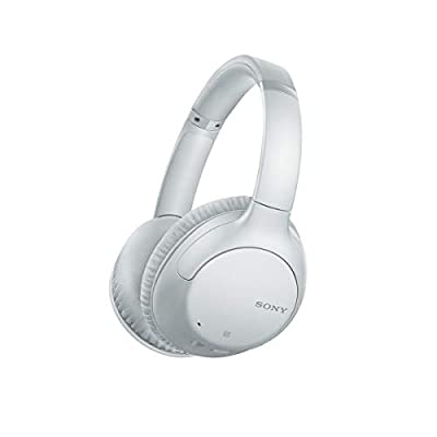 Sony WH-CH710N Noise Cancelling Wireless Headphones with 35 hours Battery Life, Quick Charge, Built-in Mic and Voice Assistant - White from Sony