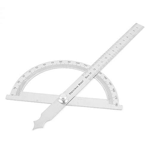 New Lon0167 Edelstahl-Rundkopf-Winkelmesser für Vorgestellt Carpenter Architect(id:fed c6 3d 5dd)