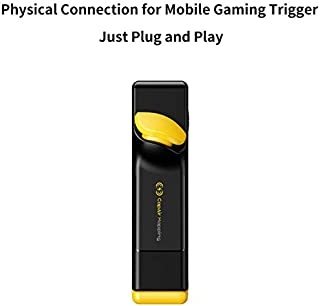 Flydigi Stinger CapAir Mapping Gaming Trigger Physical Connection for Android and iPhone No App for FPS Games -Left Hand
