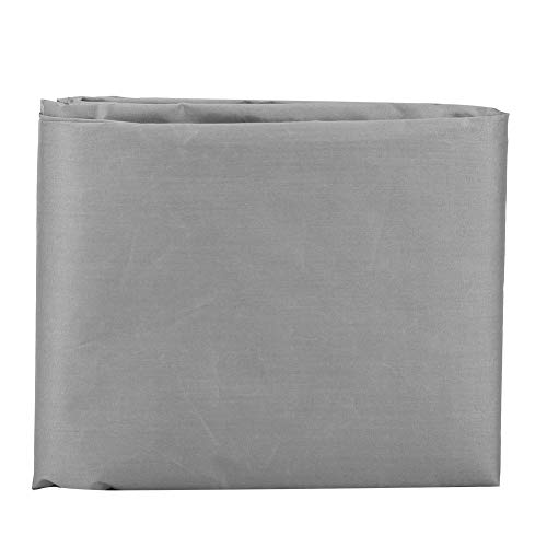 Fdit Cubierta de Mesa Impermeable Gris Cubiertas de sillas de Patio a Prueba de Polvo Cubierta de protección para Botes Cubiertas de Muebles de Patio de césped 61x56x64cm para Uso en Exteriores