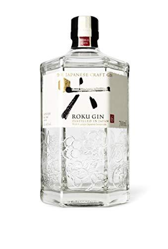 Roku The Japanese Craft Gin - 6 japanische Botanicals für einen perfekt ausbalancierten Geschmack, 43% Vol., 700ml