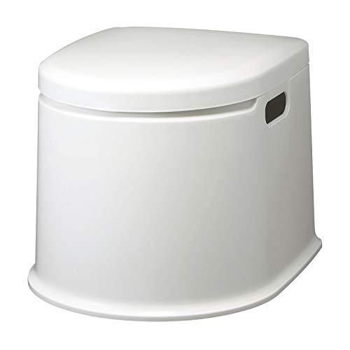ポータブルトイレP型(ホワイト)PT-P11