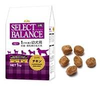 【リニューアル】【セレクトバランス】 パピー チキン小粒1kg 3個セット