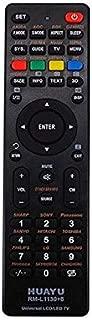 Calvas Huayu Universal Remote Control Rm-L1130+8 For All Brand Tv Smart Tv Remote Control - (Color: Black)