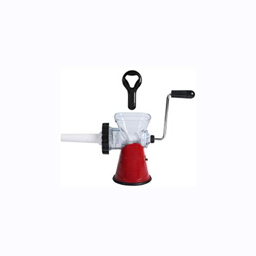 ZZWZM Manual Meat Grinder-Meat Grinder Manual, Aluminium Alloy Hand Operate Manual Meat Grinder Sausage Beef Mincer Table Kitchen Home Tool