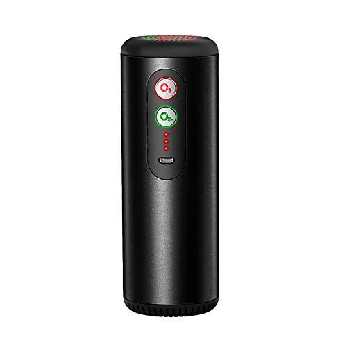 Purificatore d'Aria per Auto, KKmoon Mini Depuratore d'Aria Generatore di Ozono Due modalità Anione+Ozono Sterilizzatore per Deodorazione per Frigorifero/Viaggio/Ufficio Carica USB a Ultra Silenzioso