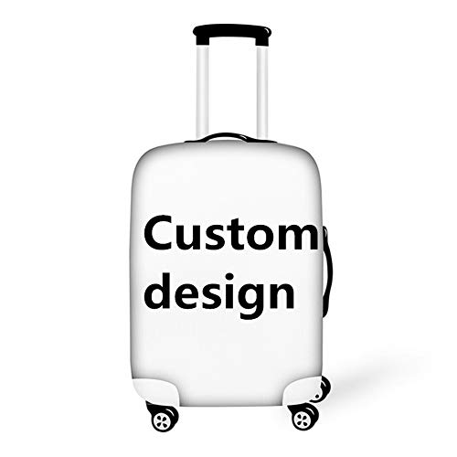 BIGCARJOB Custom Design Elastic Luggage Cover Personality Suitcase Cover for 26-28inch