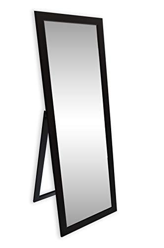 Ramix STANDSPIEGEL, Stehender Spiegel, 160 x 50cm, 3 Farbe Optional, Schwarz Matt