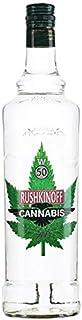 Vodka Cannabis 1 Litro 50% Alcohol Rushkinoff