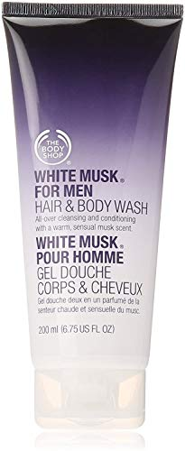 The Body Shop White Musk for Men Hair & Body Wash, 6.75-Fluid Ounce