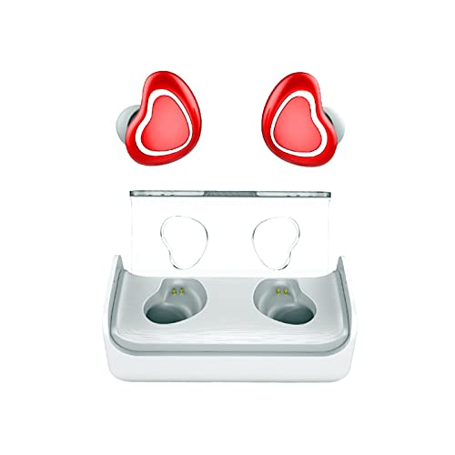auriculares inalambricos bluetooth, Auriculares inalámbricos Mini Bluetooth 5.0 Auriculares en la oreja, auriculares a prueba de agua, auriculares de alta definición, auriculares deportivos estéreo co