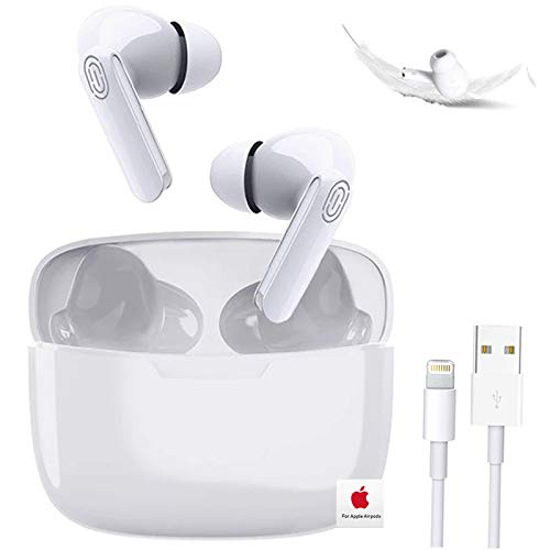 Cuffie Bluetooth Auricolare Bluetooth 5.0 Auricolari Wireless Cuffie Sportive IPX5 Impermeabili Cuffie Stereo 3D, Cuffie In-Ear con Mic e Scatola di Ricarica, per Apple AirPods Pro/Android/iPhone