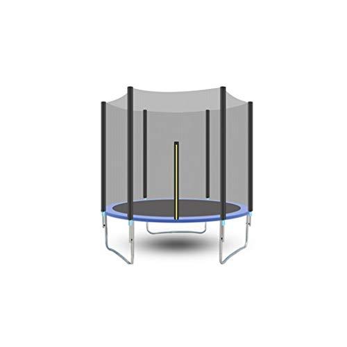SXZHSM Trampoline doorgegeven de veiligheid Cover Test met veiligheidsnet ronde tuin Trampoline met ladder en gewatteerde pool outdoor blauw 306 Cm Trampoline