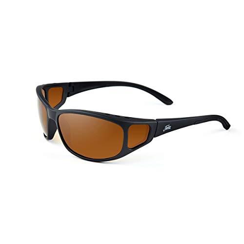 Fortis Eyewear Wraps Polarised Fishing Sunglasses with UV Protection,...