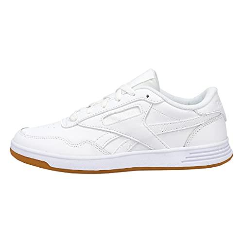 Reebok womens Club Memt Sneaker, White/White, 8.5 US