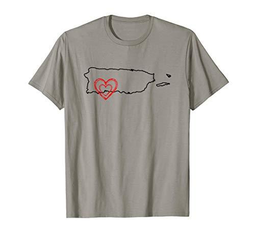 Boricua Pride Puerto Rico map pray earthquake Puerto Rican T-Shirt