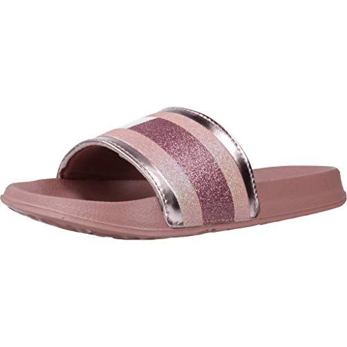 Tommy Hilfiger Damen Sandalen Sandaletten T3A0 30675 Pink 39 EU