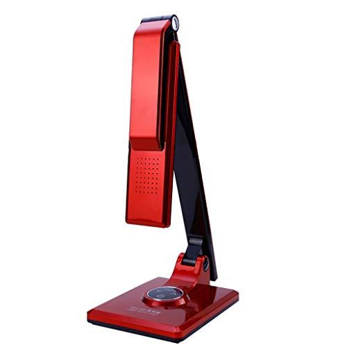 LED- Lámpara Escritorio Estudiante de lectura lámpara de la lámpara del trabajo plegable (regulable, no parpadeo) Dormitorio interruptor lámpara de cabecera Smart Touch lámpara de escritorio Lámpara d