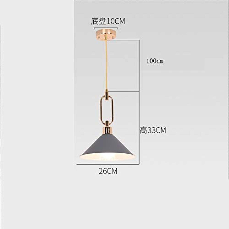 Kronleuchter Licht Metall Kronleuchter Deckenleuchte Retro LED Deckenleuchter (Farbe   D)