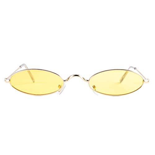 occhiali da sole uomo ovali DAUERHAFT Occhiali da Sole ovali Stile Vintage