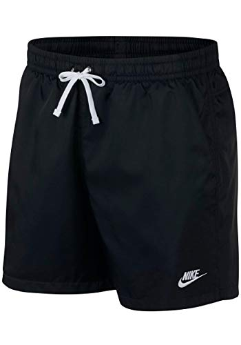 Nike Woven Flow Shorts (XL, Black/White)