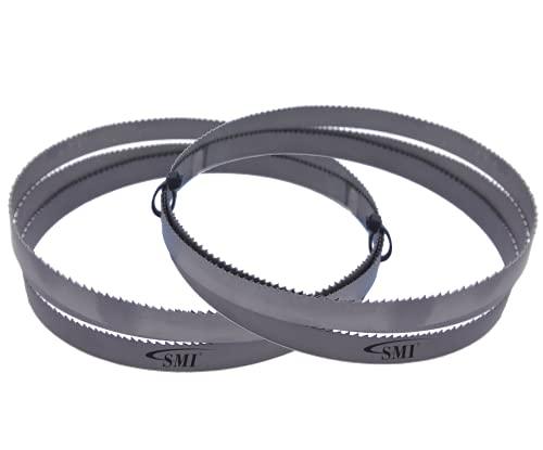 2er SET de metal sierra de cinta bi-de metal M 42 1638 x 13 x 0,65 mm Dimensiones 14 ZpZ para optimum, Epple, Holzmann, Bernardo