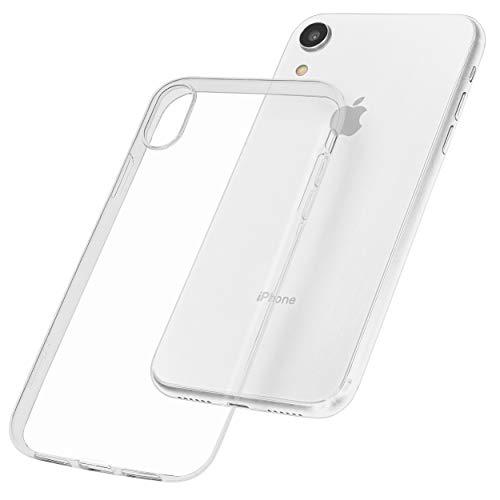 mumbi Hülle kompatibel mit iPhone XR Handy Case Handyhülle dünn, transparent