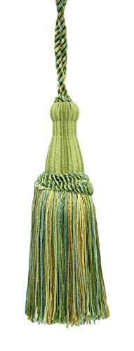 décoratifs 14 cm Key Tassel, Bleu océan, Vert Printemps, Jaune pâle, Alpine, Gulf, Style # Ktc055 Couleur : Summer Daze – Pr17